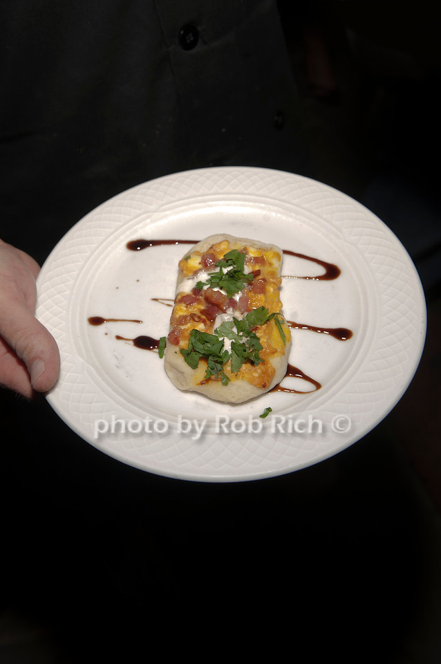 Team Old Brookville's flat bread with pumpkin appetizer.