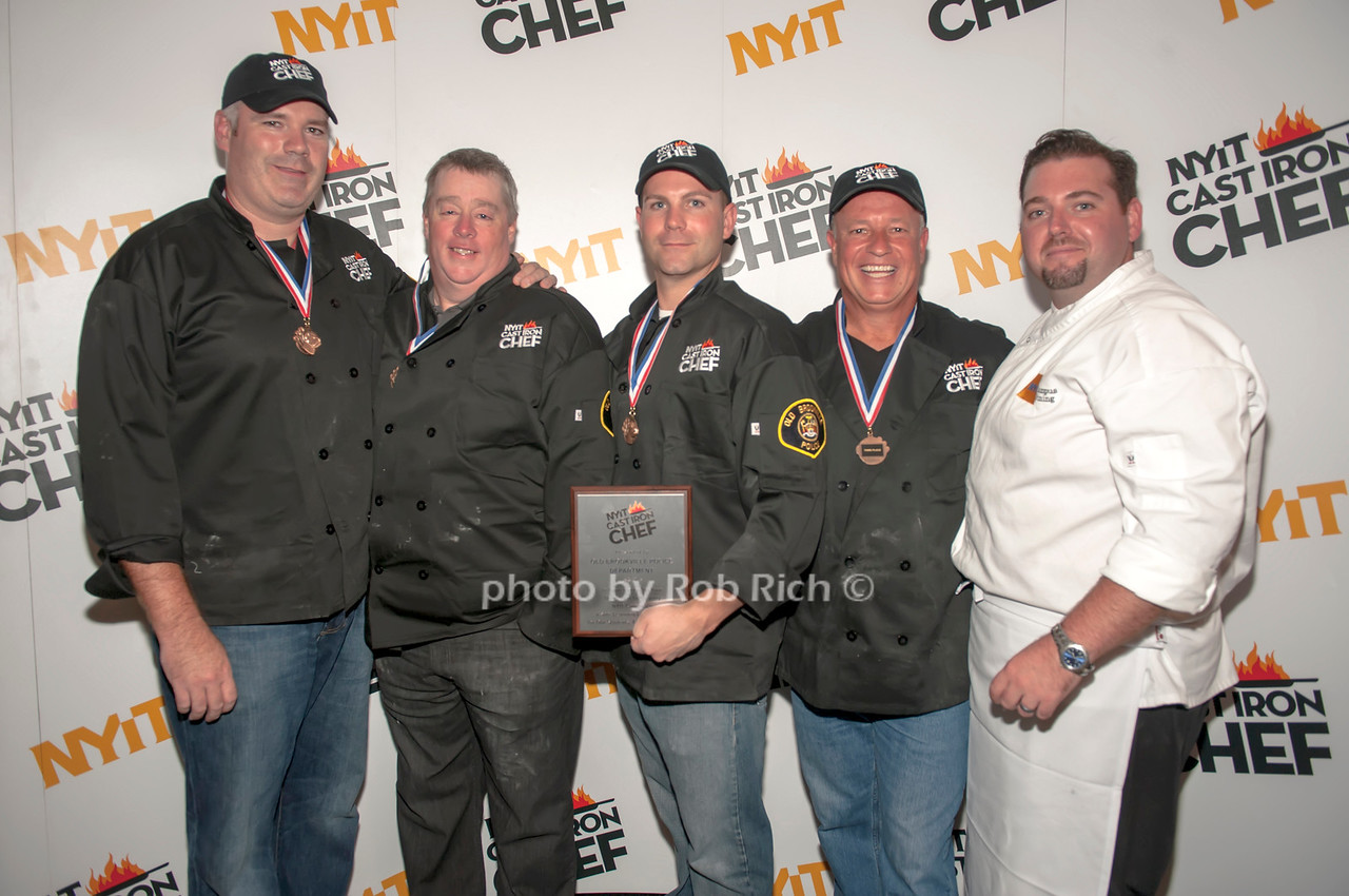 Old Brookville team with Chef Brian Hoos.