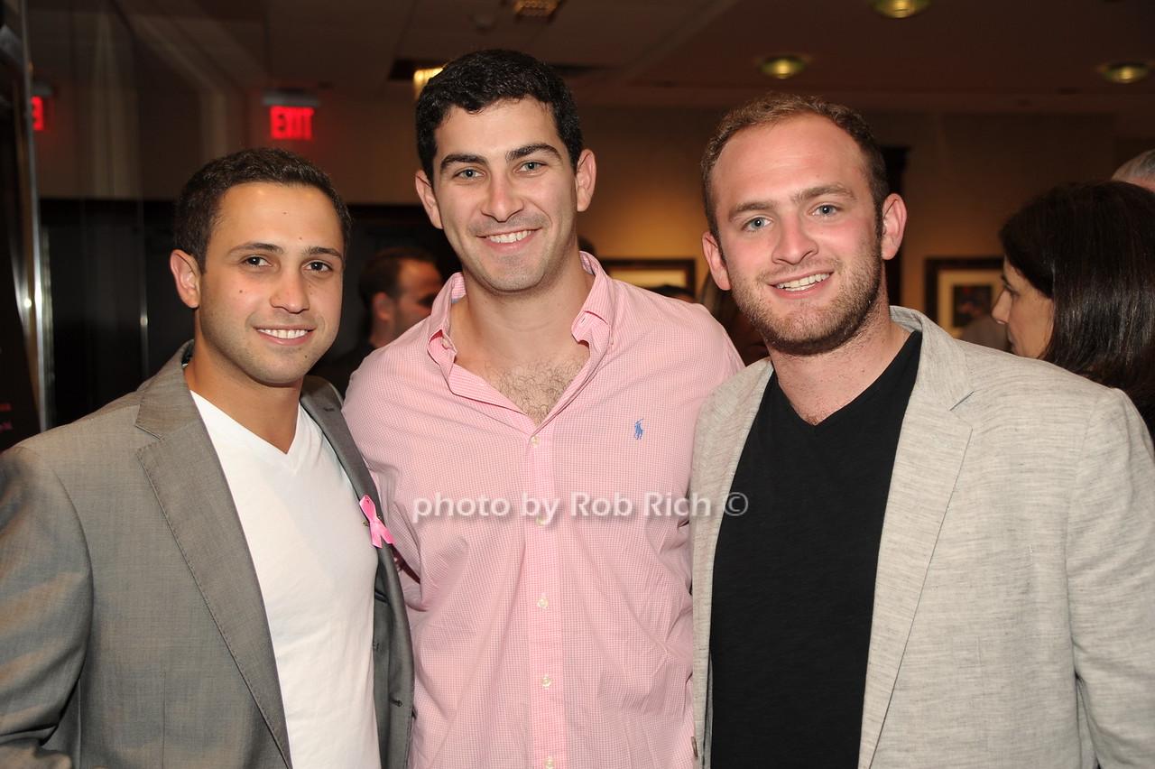 Robbie Cohen, Scott Halperin, Ryan Baltimore photo by Rob Rich/SocietyAllure.com © 2016 robwayne1@aol.com 516-676-3939