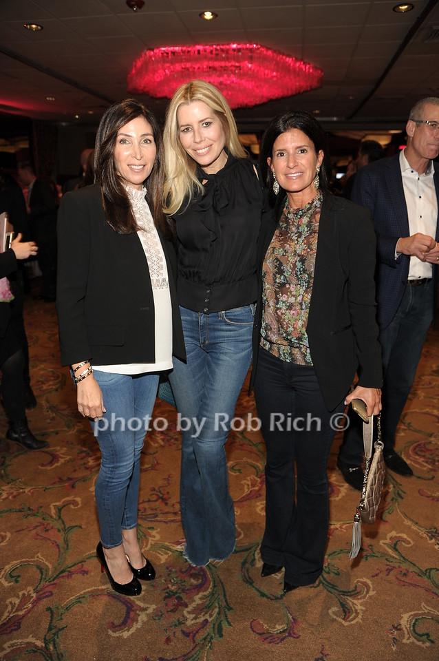 Debra Shaebitz, Aviva Drescher,  Lisa Joseph photo by Rob Rich/SocietyAllure.com © 2016 robwayne1@aol.com 516-676-3939