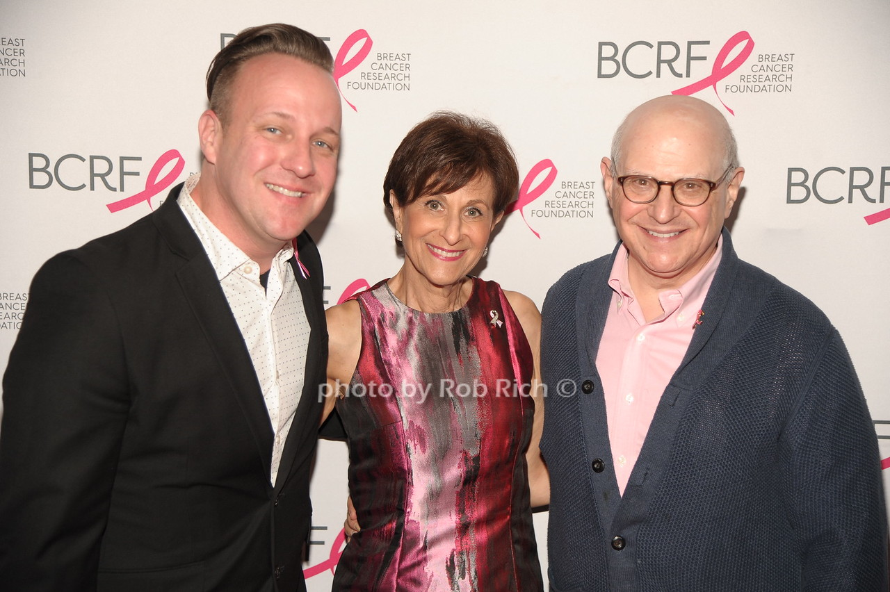 Mark Hurlbert, Myra Biblowit, Dr. Larry Norton