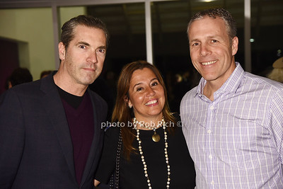 Justin Mitchell, Fran Tonon, Jeff Tonon photo by Rob Rich/SocietyAllure.com ©2017 robrich101@gmail.com 516-676-3939