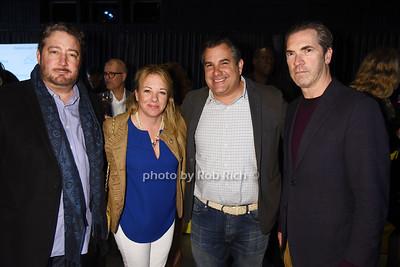 George Orloff, Regina Quinn, Charles Regensburg, Justin Mitchell photo by Rob Rich/SocietyAllure.com ©2017 robrich101@gmail.com 516-676-3939