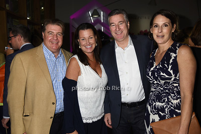 Shamus Doyle, Terri Doyle, David Gilmartin, Cherish Gilmartin photo by Rob Rich/SocietyAllure.com ©2017 robrich101@gmail.com 516-676-3939