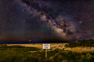 Please Keep Off The Milky Way