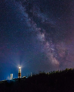 Milky Way Over Montauk