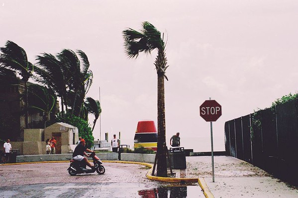 Hurricane Frances brought some surprise gusts but thankfully not much more to Key West, FL