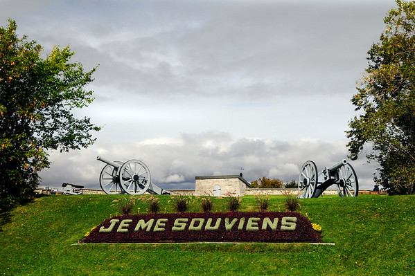 "Je Me Souviens is the state motto of the Province of Quebec and roughly translated means, ""I will remember"".  Yes, we definitely will!"