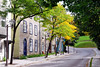 The streets are picturesque in Quebec, even away from the mainstream tourist areas.