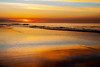 South Edison Beach, Montauk shortly after a hazy sunrise