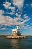 Long Beach Bar (Bug Light) Lighthouse - Orient, NY.