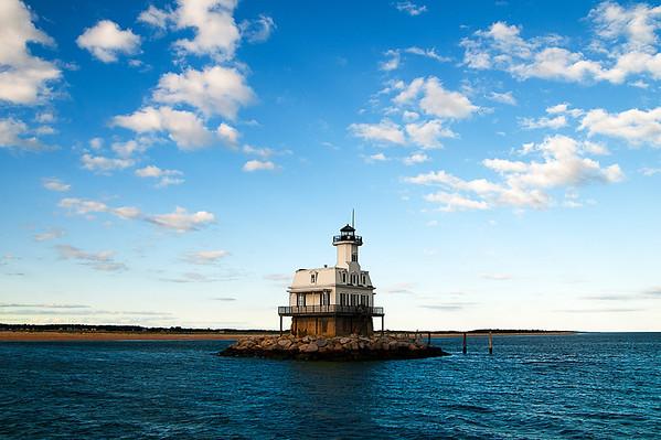 Long Beach Bar (Bug Light) Lighthouse - Orient, NY