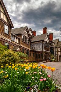 Mansion at Bayard Cutting Arboretum in Great River, NY