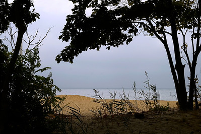 Even gloomy days look sorta pretty on Long Island.  Corey Beach in Blue Point, NY.