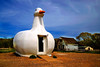 "The ""Big Duck"" is indeed listed on the National Register of Historic Places in Washington, D.C. Constructed in 1931 as an advertising gimmick by duck farmer Martin Maurer, it has recently been re-located to it's most prominent former location in Flanders, NY."