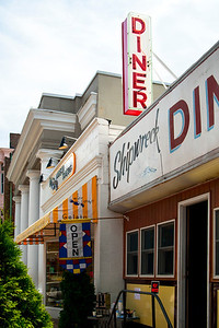 The Shipwreck Diner in Northport.  Big with the Sunday Brunch crowd (prepare to wait) and with the locals on early weekday mornings.