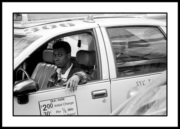 New York City Cabbie stare