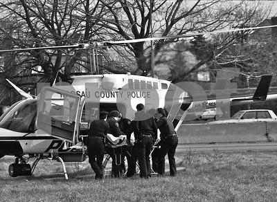 Nassau County Burn Victim Medivac
