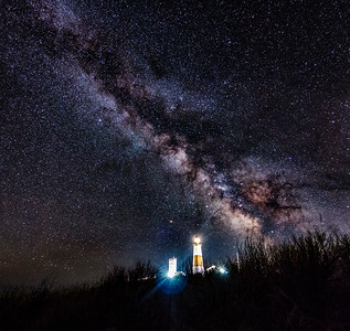 Milky Way over Montauk IV