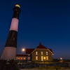 Lighthouse and the Super Moon
