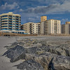 Apartment Buildings With Jetty, Long Beach