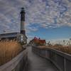 Walkway To Fire Island Lighthouse