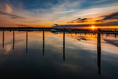 Sunrise at East Islip Marina
