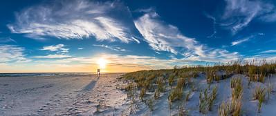 Superwide Dune Sunset