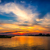 Sunset Colors @ Oak Island