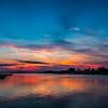 Oak Island Afterglow