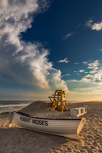 Robert Moses and Boat