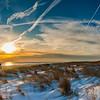 Winter Dune Sunset