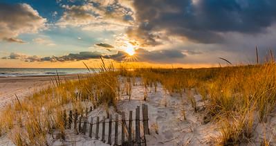 Robert Moses Winter Sunset