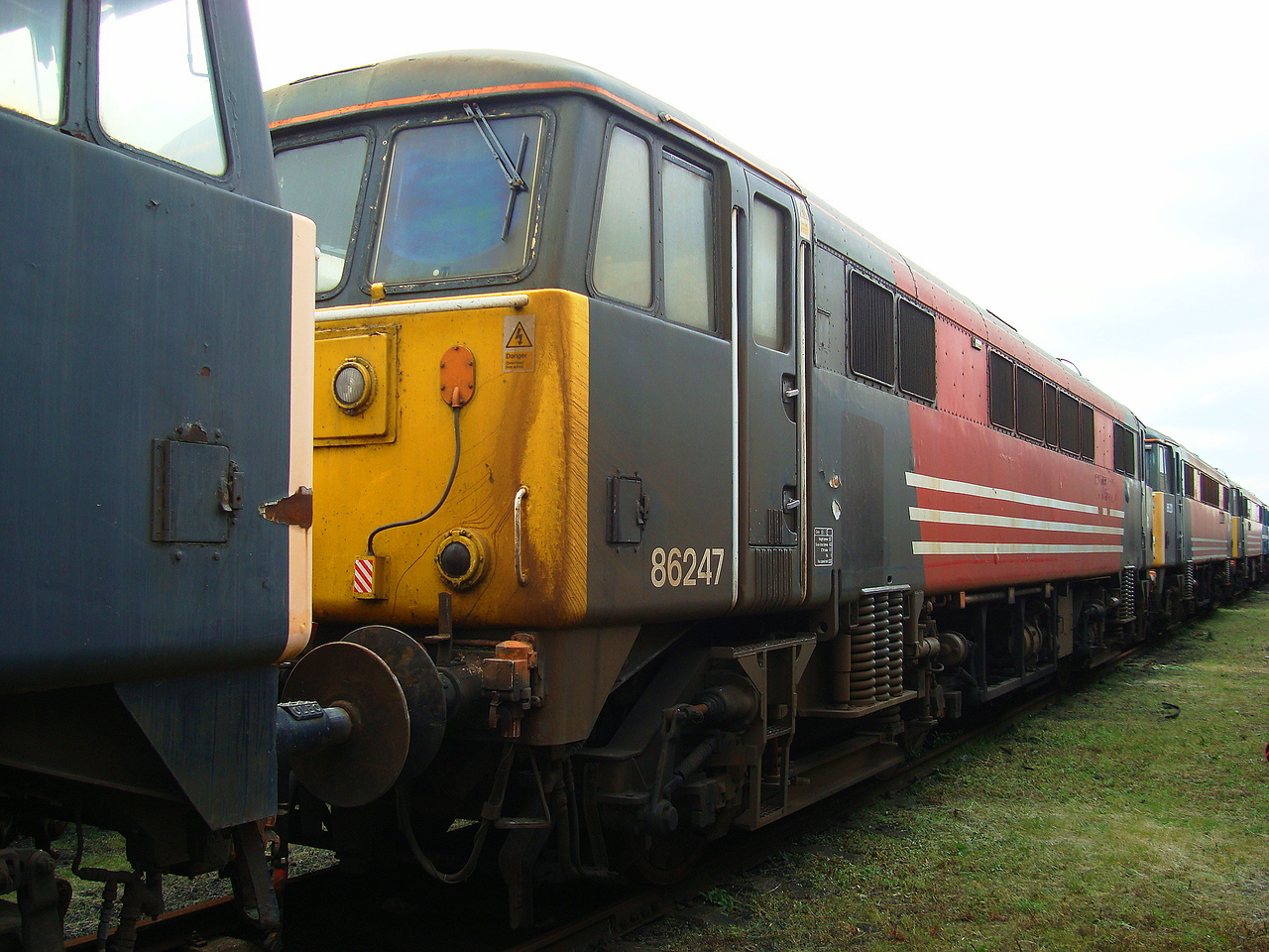(86247) 07,06,2008 (Now At Crewe LNWR In Europhoenix Livery))