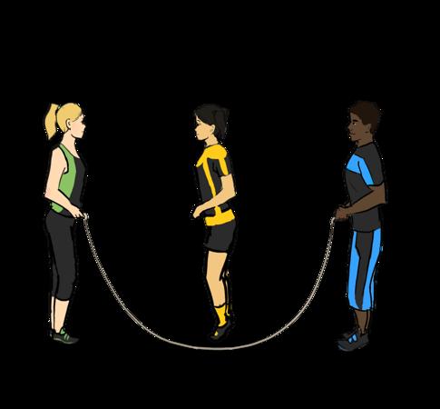 Long Rope Jump
