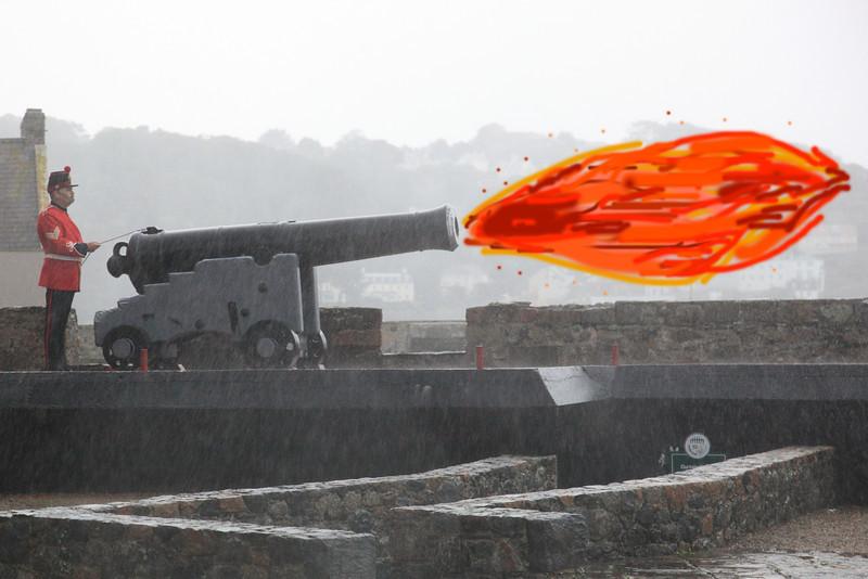 Castle Cornet Cannon