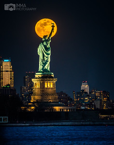 Liberty And The Moon