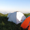 hiking and camping trip in Beijing