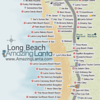 Long Beach Map, Koh Lanta