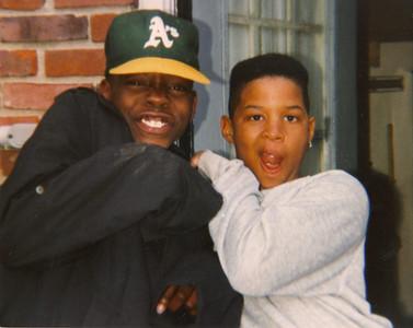 Jason & his buddy Ralph - age 11