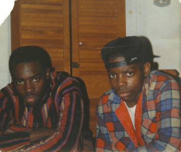 "My brothers looking ""Hard"" - Malcolm & Jason Jackson"