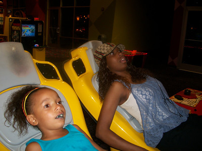 After I teased and taunted them...I had to  make them feel a little better...They are loving this ride