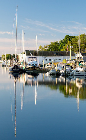 Reflections and masts