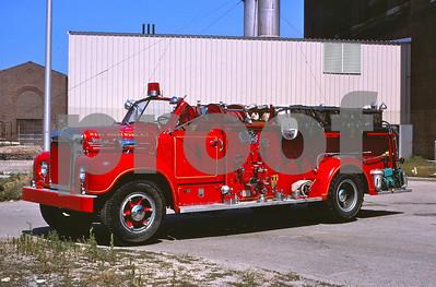 Pilgrim State Hospital  1956 Mack 1000 GPM
