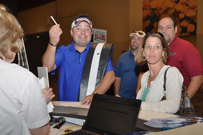 Get people to the registration desk with social media marketing.
