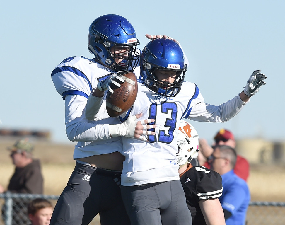Longmont at Mead Football Playoffs
