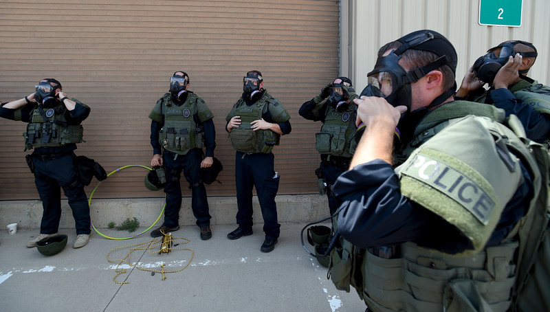 Longmont SWAT Training