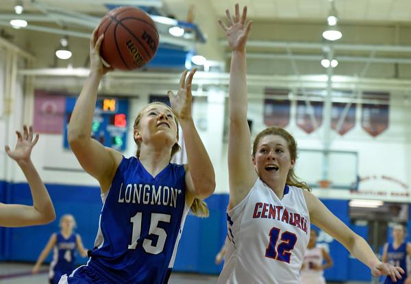 Longmont vs Centaurus Girls Bball