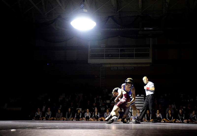 Longmont vs Silver Creek Wrestling