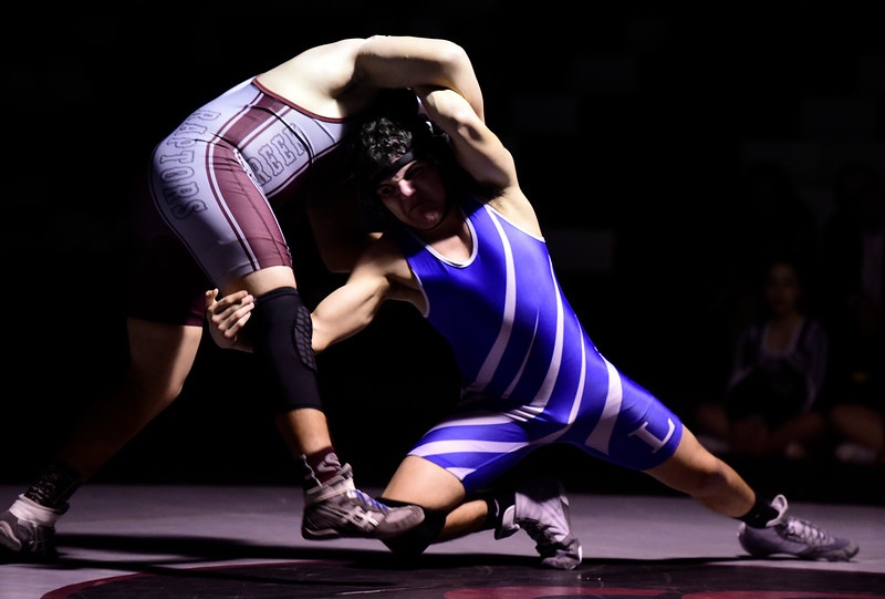 Longmont vs Silver Creek Wrestling